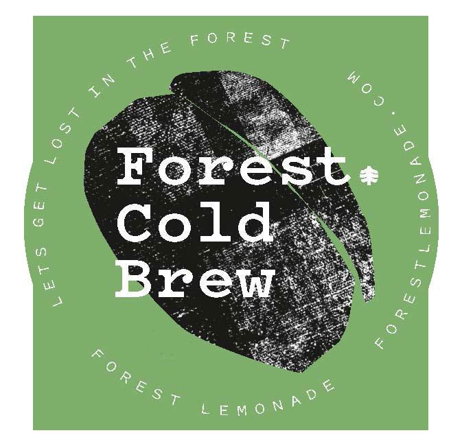 Forest Lemonade Sticker Grün
