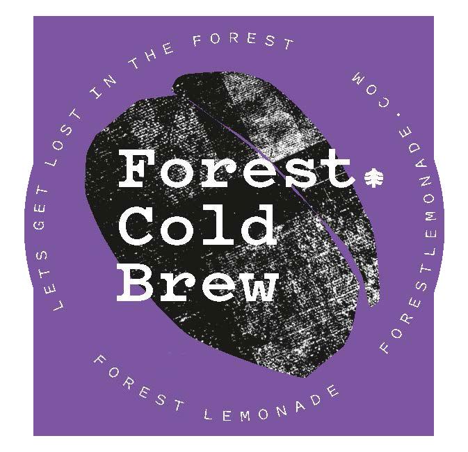 Forest Lemonade Sticker Lila